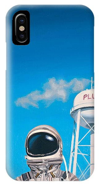 Space iPhone Case - Pluto by Scott Listfield