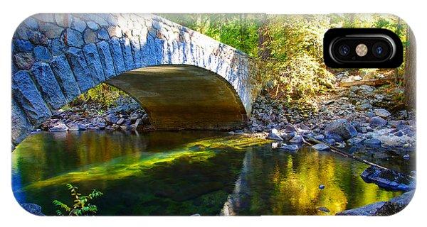Pohono Bridge Yosemite National Park IPhone Case