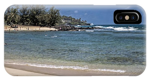 Poi Pu Beach 3 IPhone Case