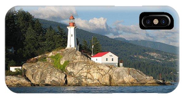 Point Atkinson Lighthouse IPhone Case
