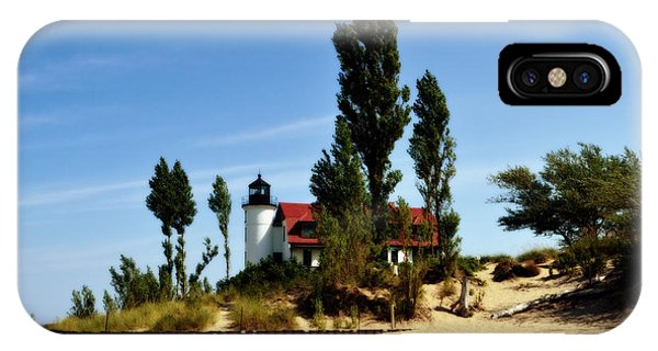 Point Betsie Light IPhone Case
