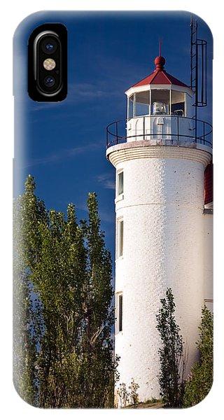 Point Betsie Lighthouse Michigan IPhone Case