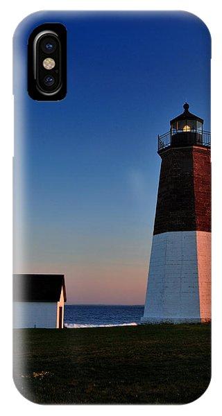 Point Judith Light IPhone Case