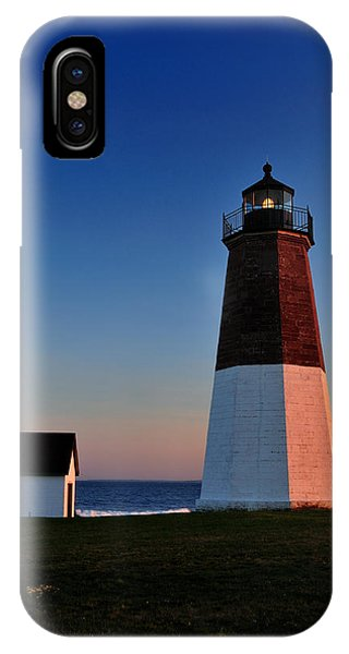 Point Judith Light IPhone Case