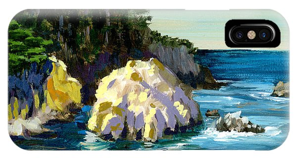 Point Lobos Rock IPhone Case