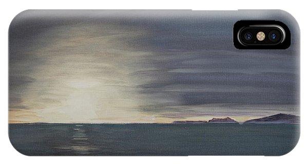 Point Mugu Sunset IPhone Case