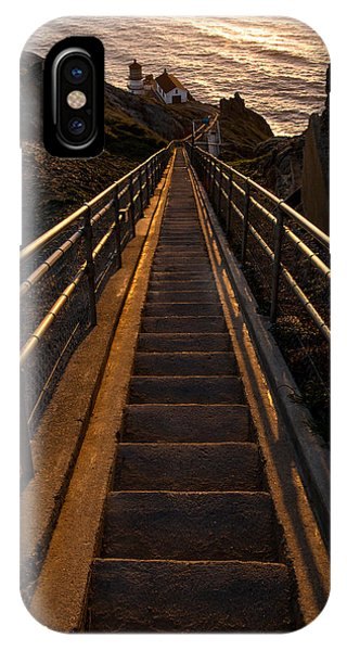 Point Reyes Lighthouse Staircase IPhone Case