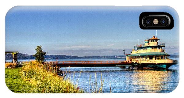 Point Ruston Ship IPhone Case