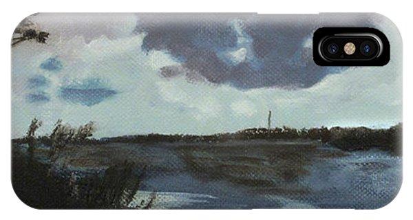 Pointe Aux Chein Blue Skies IPhone Case