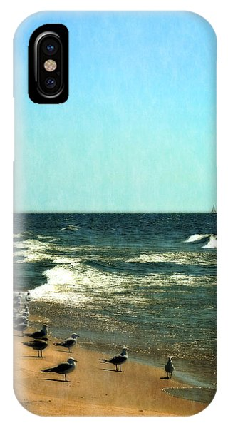 Pointed Into The Wind IPhone Case