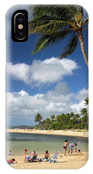 Archipelago iPhone Case - Poipu Beach Park On The Southern Coast by David R. Frazier