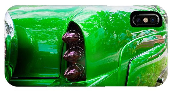 Poison Ivy Green Custom Car IPhone Case