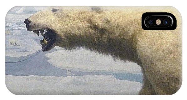 Polar Bear Diorama IPhone Case