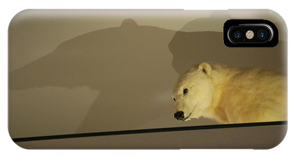 Polar Bear Shadows IPhone Case