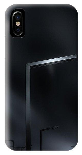 Street Light iPhone Case - Poles by Despird Zhang