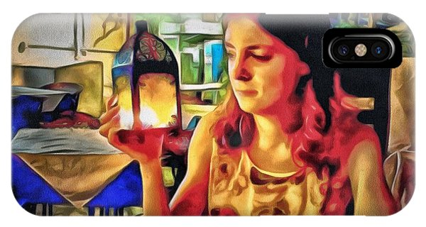 Polina At Lamma Island Phone Case by Yury Malkov