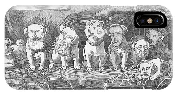 Political Puppy Class IPhone Case
