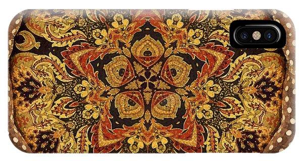 Polka Dot Tapestry 10 IPhone Case