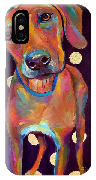 Polka Pooch IPhone Case
