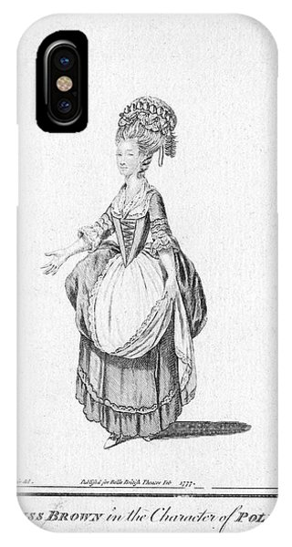 'polly' By John Gay - Miss Brown Phone Case by Mary Evans Picture Library