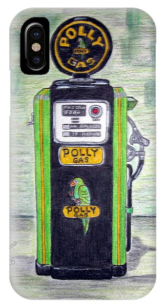Polly Gas Pump IPhone Case