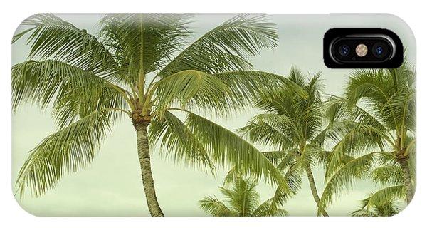 Polynesia Palm Trees IPhone Case