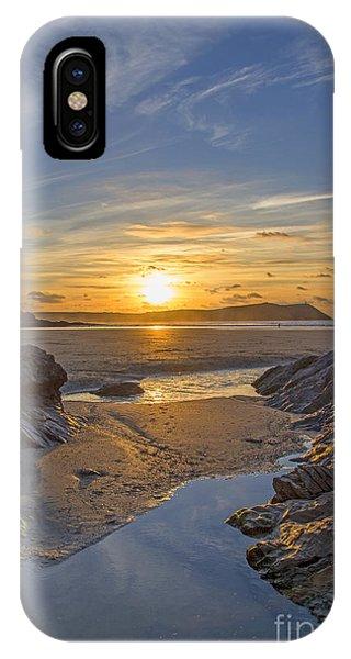 Polzeath Sunset IPhone Case