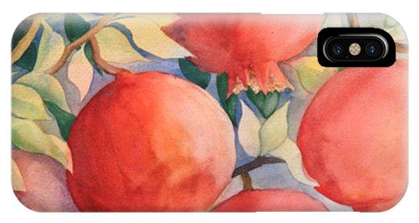 Pomogranates IPhone Case