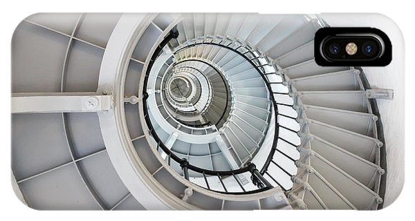 Ponce De Leon Inlet Lighthouse Staircase IPhone Case