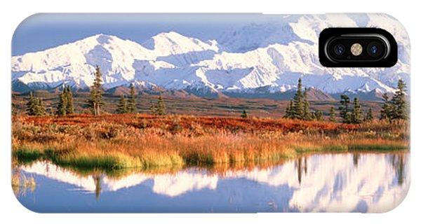 Pond, Alaska Range, Denali National IPhone Case