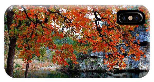 Fall At Lost Maples State Natural Area IPhone Case