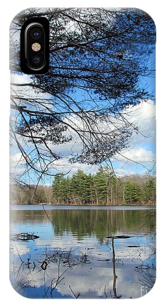 Pond At Maxwell Mays IPhone Case