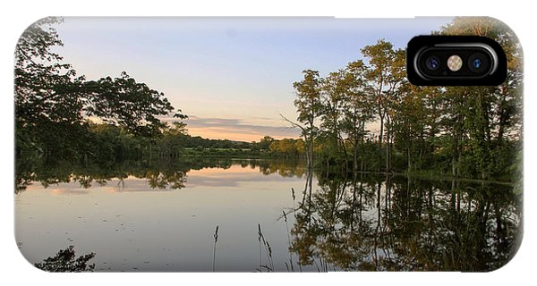 Pond At Sunset IPhone Case