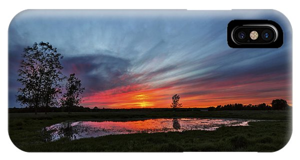 Pond In The Pasture IPhone Case