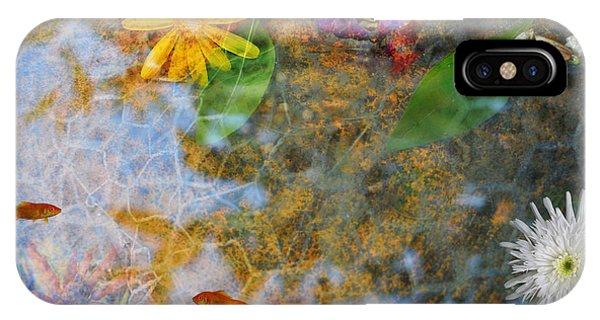 Pond Or Garden? IPhone Case