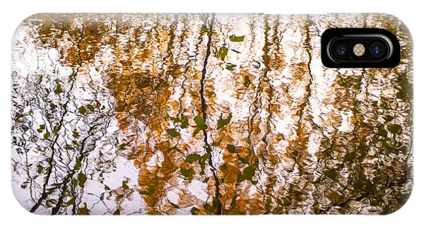Pond Reflections #3 IPhone Case