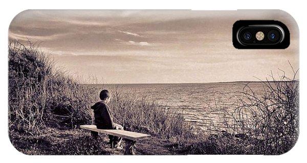 Pondering Phone Case by Jonathon Shipman