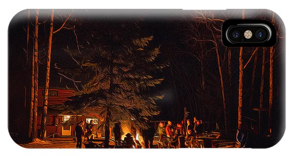 Ponderosa Christmas '14 IPhone Case