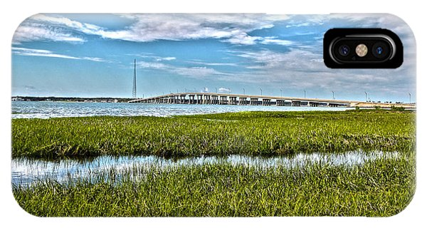 Ponquogue Bridge IPhone Case