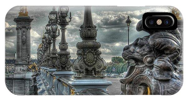 Pont Alexandre IIi  IPhone Case