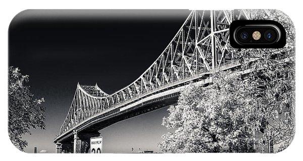 Pont Jacques Cartier IPhone Case