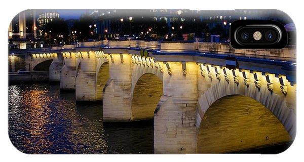 Pont Neuf Bridge - Paris - France IPhone Case