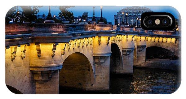 Pont Neuf Bridge - Paris France IPhone Case
