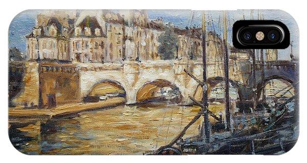Pont Neuf Paris IPhone Case