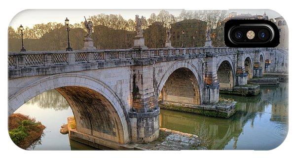 Ponte Sant'angelo  IPhone Case