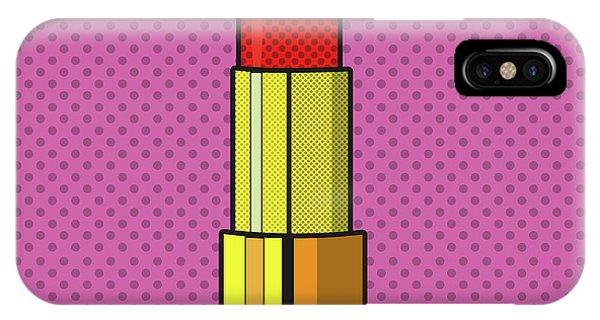 Pop Art Lipstick Design IPhone Case