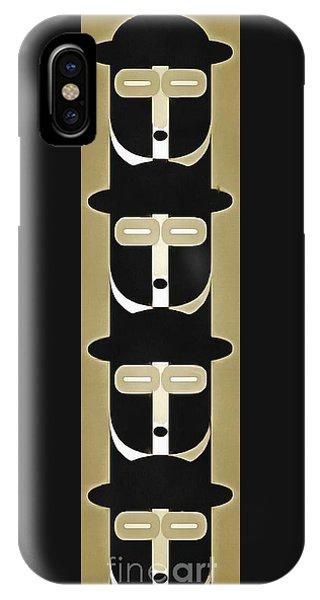 Pop Art People Totem 5 IPhone Case