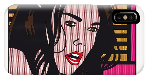Adult iPhone Case - Pop Art Porn Stars - Dillion Harper by Chungkong Art