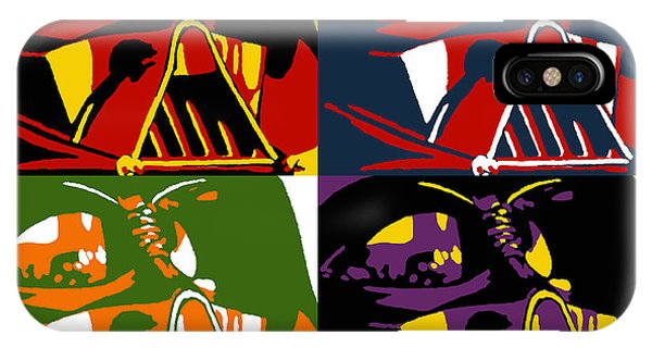 Pop Art Vader IPhone Case
