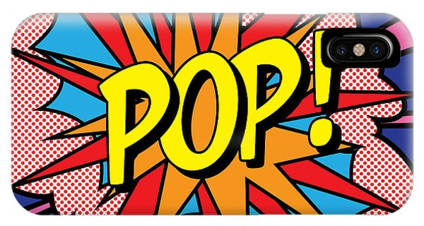 Decorative iPhone Case - Pop Exclamation by Gary Grayson